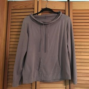 Gap Body wide-neck sweatshirt